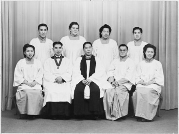 Image: Members of the Chinese Anglican Church, Wellington