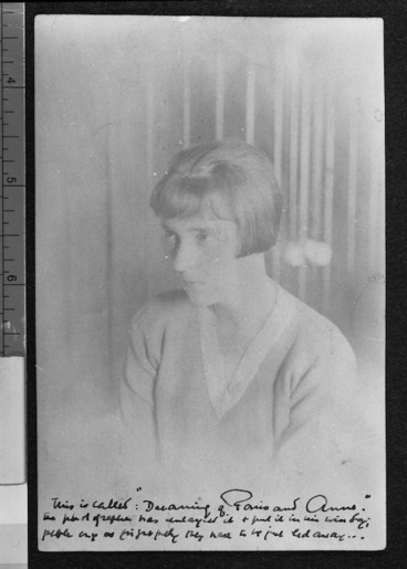 Image: Creator unknown : Photograph of Katherine Mansfield