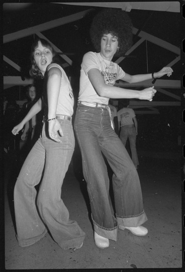 Image: Vicki Stroud and Peter Heperi participating in a dance marathon, Wellington