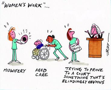 Image: Women's work