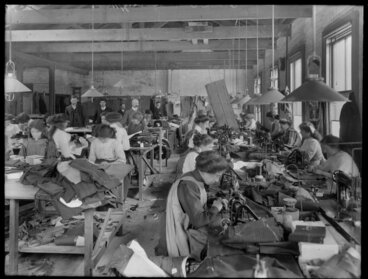 Image: Clothing factory, Christchurch