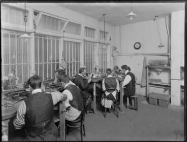 Image: Silversmiths at work, Christchurch
