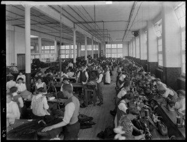 Image: Kaiapoi Woolen Factory interior