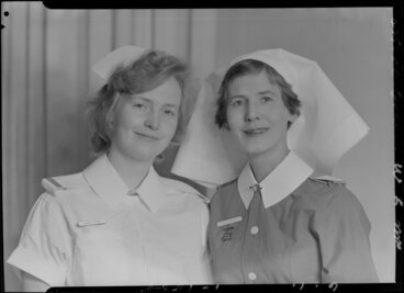 Image: Two unidentified nurses