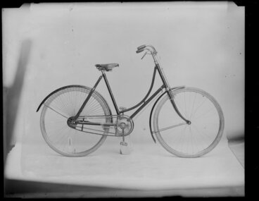Image: Woman's bicycle, Christchurch