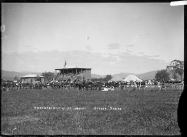 Image: Grandstand and racecourse, Opotiki