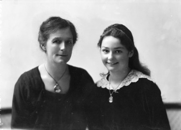 Image: Joan Zohrab and her mother