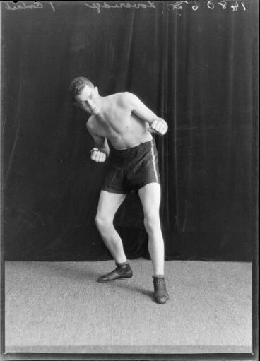 Image: Dick Loveridge, boxer
