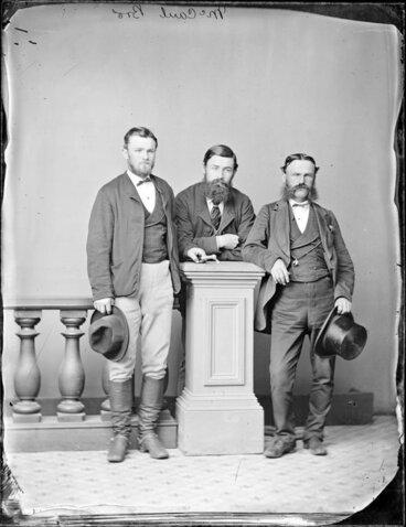 Image: The three McCaul brothers