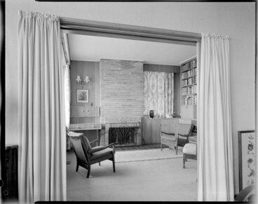 Image: Study room, Dr Feltham's house, Wellington