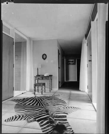 Image: King house, interior, hallway