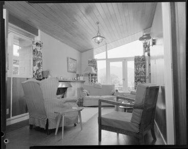 Image: King house, interior, study
