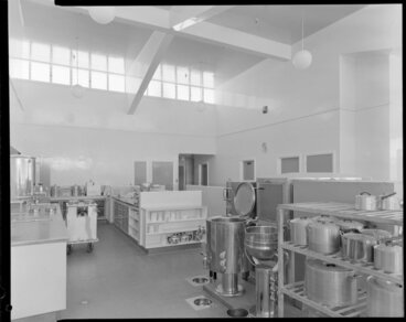 Image: Porirua Hospital, new wing by Houghton and Blair, kitchen