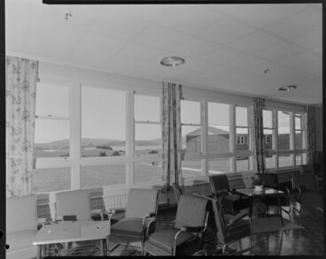 Image: Porirua Hospital, new wing by Houghton and Blair, dining room