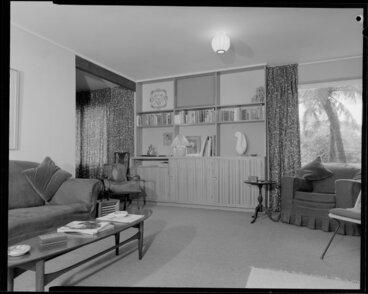 Image: Ellis house, 5 Glentui Grove, Khandallah, living room
