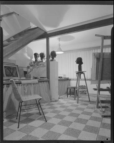 Image: Ellis house, 5 Glentui Grove, Khandallah, studio