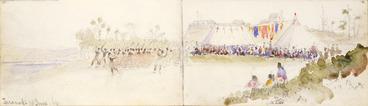 Image: Williams, Edward Arthur, 1824-1898 :Taranaki, 18 June [1864]