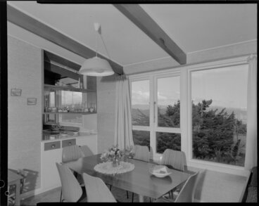 Image: Dining room [of Butcher house, Normandale, Lower Hutt?]