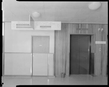 Image: Interior, main entrance, Masterton Hospital, Wairarapa