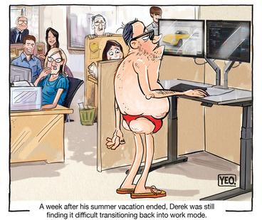 Image: [Back to work after summer holidays]