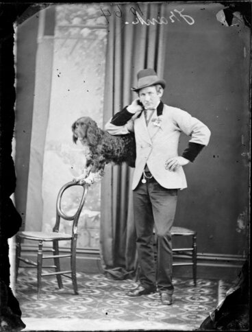 Image: Mr Frank and his acrobatic dog