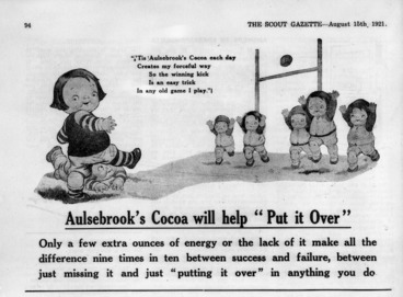 Image: Advertisement for Aulsebrook's cocoa