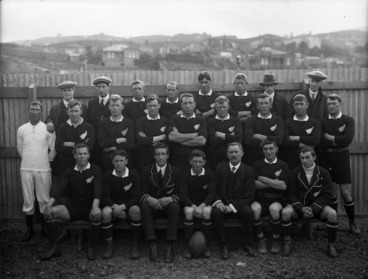 Image: All Black rugby team
