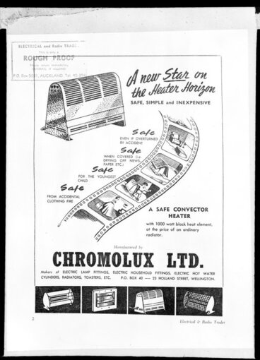 Image: Poster, Chromolux heaters