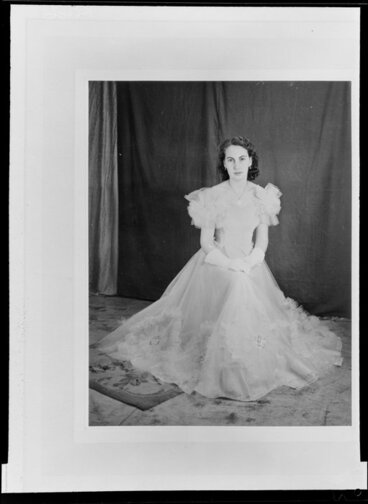 Image: Woman in ball gown