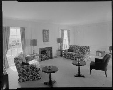 Image: Manthel House living room, Wellington