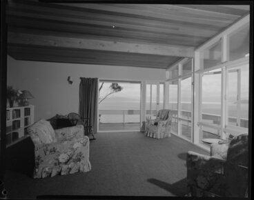 Image: Living room, Jim Dawson house