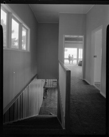 Image: Hall and staircase, Jim Dawson house