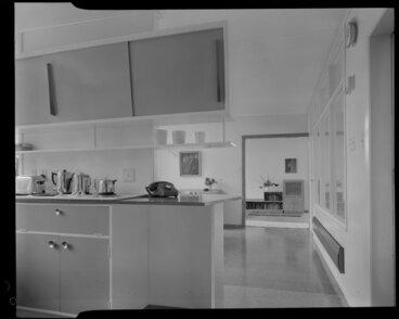Image: Kitchen interior, Shuker house, Titahi Bay, Porirua