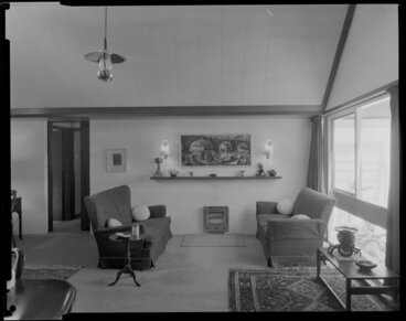 Image: Interior, living room, Paprill House