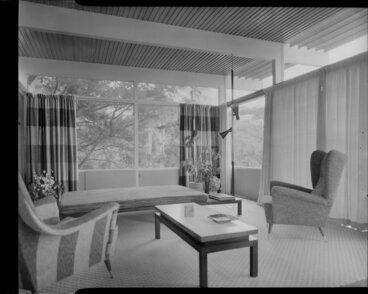 Image: Living room interior, Winkler house, Wellington