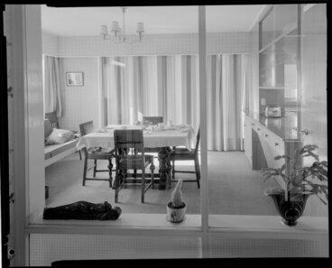 Image: Dining room, Vautier House [Wellingotn?]