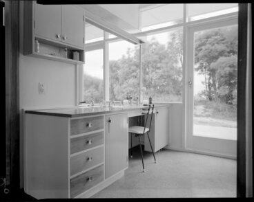 Image: House interior, powder room, Shuker house, Titahi Bay, Porirua