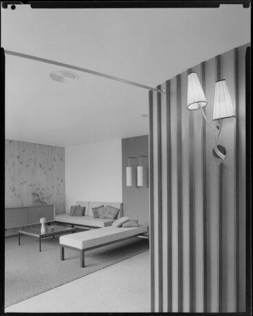 Image: Living room of a house designed by Friedrich Eisenhofer