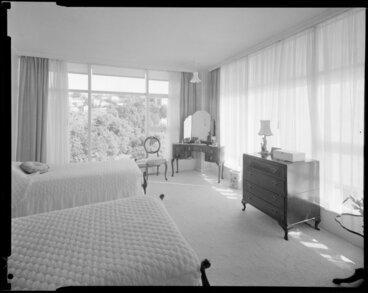 Image: Bedroom in Herbert Gardens Flats, The Terrace, Wellington