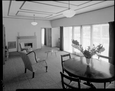Image: Living room of Cockburn house, Masterton