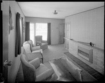 Image: Living room interior, Cockburn house, Masterton