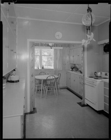 Image: Kitchen interior, Barton-Ginger house, Wellington