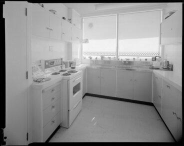 Image: Kitchen of Herbert Gardens Flats, The Terrace, Wellington