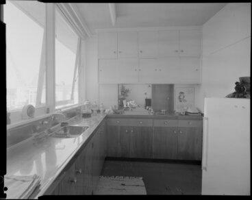 Image: Kitchen in Herbert Gardens Flats, The Terrace, Wellington