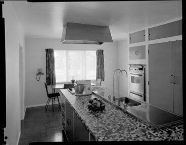 Image: Kitchen interior, Cockburn house, Masterton