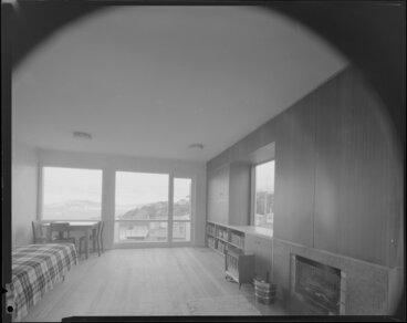 Image: Living room, Mallard house, 44 Lotua Street, Wellington