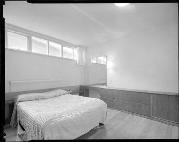 Image: Bedroom, Mallard house, 44 Lotua Street, Wellington