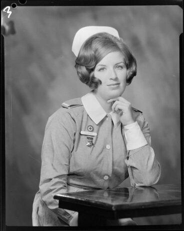 Image: Miss Brigson (nurse), portrait