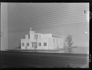 Image: Architectural model for a church for the Chinese community, Wellington