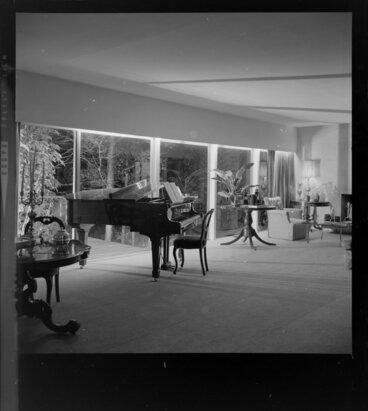 Image: Living room of Tuston house, [Wellington?]